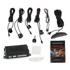 Back Up Backup Car Led Parking Reverse Backup Radar + 4 Sensor System