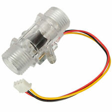 M218 Transparent Water Flow Control Switch Sensor Flowmeter 1-30L/min 1.75Mpa