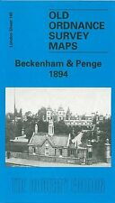 MAP OF BECKENHAM & PENGE 1894