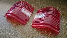 Pair USDM S50 series Crown wagon pick-up tail light lenses MS53 RS53 MS56 RS56