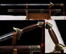 """Hand Forge Chinese Wudang Sect Taichi Sword """"太極劍""""Stainless Steel Good Toughness"""