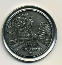 Medaille Herford Brüderstrasse 1972 Bürger von Herford bewahret Euer Erbe M_097