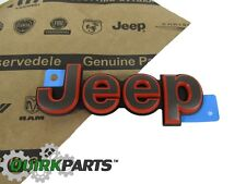 2016 JEEP COMPASS PATRIOT FRONT HOOD BRONZE JEEP EMBLEM BADGE MOPAR GENUINE
