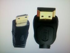 HDMI Male to Mini HDMI Type C Male 19 Pin Gold Plated Ver1.3 Cable 1 Meter