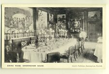 tp6528 - Norfolk - The Dining Room set for Meal, in Sandringham House - Postcard