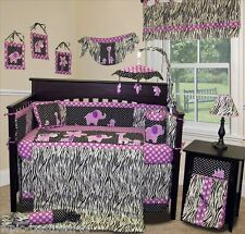 Baby Boutique - Animal Planet (Purple) - 14 pcs Crib Bedding incl. Lamp Shade