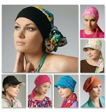 """McCall's 6521 Paper Sewing Pattern Headwrap Hat Chemo  20.5"""" 21.5"""" 22.5"""" 23.5"""""""