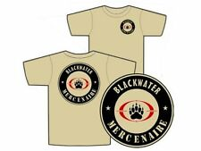 "..:: T-shirt ::.. TAN "" BLACKWATER "" S - M - L - XL - XXL mercenaire IRAK AFGHA"