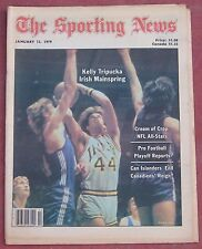 JANUARY 13, 1978 SPORTING NEWS NOTRE DAME KELLY TRIPUCKA ON COVER BASKETBALL