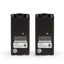 2 x BP-209N BP-210N Battery for ICOM IC-F3GT IC-F4GT IC-F11 IC-F21 IC-F12 IC-F22