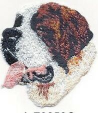 "2.75"" St. Saint Bernard Dog Embroidery Patch Applique"