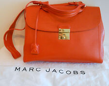 Marc Jacobs NEW Satchel The 1984 Leather Bag Handbag Purse Mandarin Orange Italy