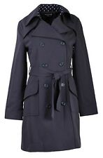 Collection London Ladies Black Navy Red Smart Casual Business Spring Mac Coat