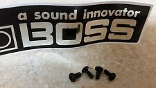 Boss pedal & others - Bottom plate replacement screws - 10 ct. / bag - Free Ship