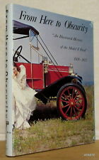 MILLER Illustrated History of the Model T Ford 1909-1927 EVERGREEN 1988 bon état