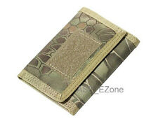 Tactical Military Wallet 1000D Nylon Tri-folded with Closure MAD