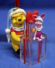 Winnie the Pooh  Piglet Gifts Disney Store  Christmas Ornament 2007