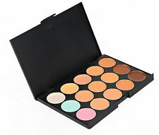 15color Professional Warm Nude Matte Shimmer Eyeshadow Comestic Makeup Palette