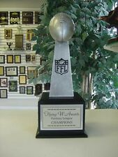 SMALL LOMBARDI STYLE FANTASY FOOTBALL PERPETUAL TROPHY 16 YEARS
