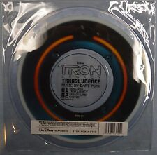"DAFT PUNK Tron Legacy Translucence RED 10"" NEW VINYL PICTURE DISC Identity Disc"