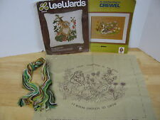2 Crewel Kit Columbia Minerva To Love Something Berry Patch Rabbit Pillow