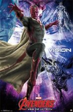 2015 MARVEL AVENGERS 2 AGE OF ULTRON MOVIE VISION POSTER 22X34 NEW FREE SHIP