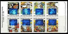 FINLAND. Greetings. Holographic. Booklet of 8. 1995, Scott 956a. MNH (BI#52)