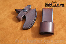 Cold Steel Frontier Hawk Tomahawk Brown Leather Sheath Cover & Belt Carry Loop