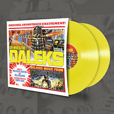 Doctor Who & The Daleks/Daleks Invasion Earth 2150AD Yellow Double Vinyl