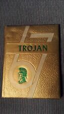 1967 North Troy High School Yearbook Vermont The Trojan collectible