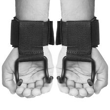 Gallant Weight Lifting Hooks Gym Training Wrist Support Grips Straps Wrap Gloves