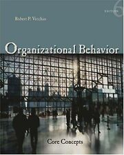 Organizational Behavior: Core Concepts (Available Titles CengageNOW) by Vecchio
