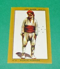 RARE CHROMO 1933 JOSEPH-MILLIAT RACES HUMAINES KURDE NOMADE KURDISTAN