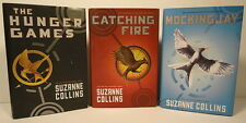 The Hunger Games Trilogy 3  Hardcover Set 1st Editions Fire MockingJay S Collins