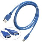USB 3.0 A Male Plug To Female Socket 10Ft 3m Super Fast Extension Cable Cord