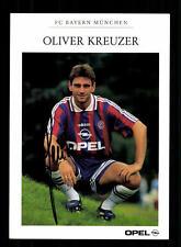 Oliver Kreuzer Autogrammkarte Bayern München 1995-96 Original Signiert  +C 129