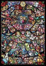 Disney Pixar Heroine Collection 1000 Pieces Jigsaw Puzzle Stained Glass Style