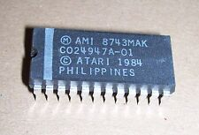 NEW Atari 800 XL computer console C Basic IC chip genuine part C024947A-01 AMI
