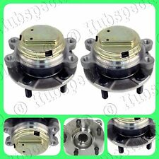 FRONT WHEEL HUB BEARING ASSEMBLY FOR INFINITI G35 2007-2008 (2WD-RWD) PAIR NEW