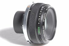 Olympus 80mm f/4 OM Zuiko Auto Macro Camera Lens SN 109855
