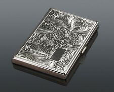 Big Kingsize CIGARETTE CASE........... Smoker Smoking metal Tin Box gift present