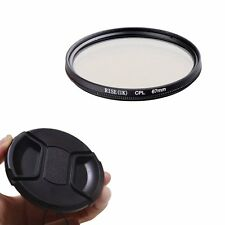 67mm CPL Polarizing Lens Filter for Canon Nikon Sony Pentax Sigma Olympus+Cap