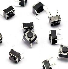 100pcs Tactile Switch Touch Push Button Key Tact Cooker 6 X 6 X 4.3mm 4-pin DIP
