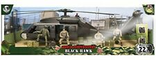 World Peacekeepers Black Hawk and 4 Figures
