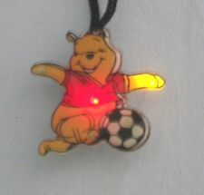 10 Winnie the Pooh Soccer Flashing LED Blinky Necklace Child Gift Bag Fillers