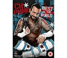 Official WWE - CM Punk: Best in the World (3 Disc Set) DVD