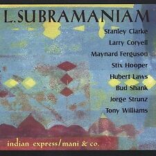 FREE US SH (int'l sh=$0-$3) NEW CD L. Subramaniam: Indian Express Mani & Co