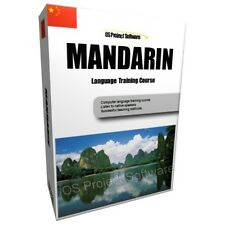 LEARN TO SPEAK MANDARIN STANDARD LANGUAGE TRAINING COURSE PC DVD NEW