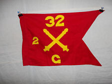 flag290 1960's US Army Guide On Artillery 32 Regiment 2nd group C Battery
