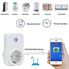EU Plug Phone Wifi Wireless Remote Control Switch Timer Smart Power Socket